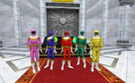 Zeo Rangers/Ohrangers In the Temple of Time by Eli-J-Brony