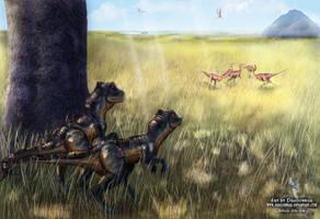 Hunting by Dragonniar