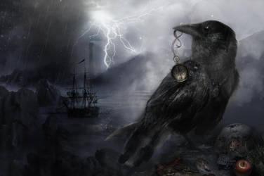The Crow by TheGreenRabbit