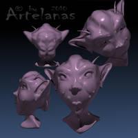 Ugly Alien by Artelanas