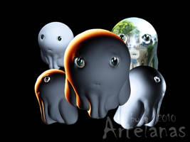 Lil' Ghost by Artelanas