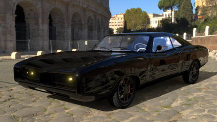 Muscle car by Yelsew82