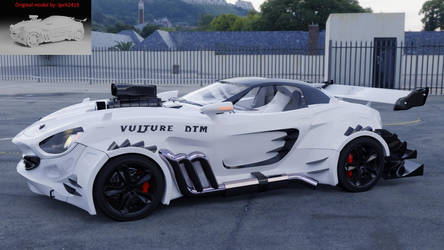 Vulture modified 2 DTM edition by Yelsew82