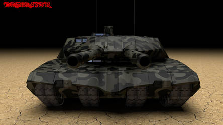 Dominator II frontview by Yelsew82