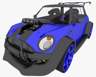 Mini Cooper modified by Yelsew82