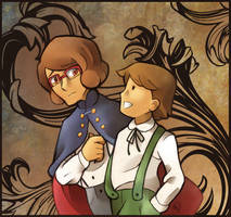 PL x OtGW: Brothers in the Woods by MagicianCelemis