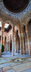 Alhambra de Granada. Patio de los Leones (Spain) by ElRobel