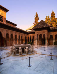 Alhambra de Granada. Patio de los Leones 2 (Spain) by ElRobel