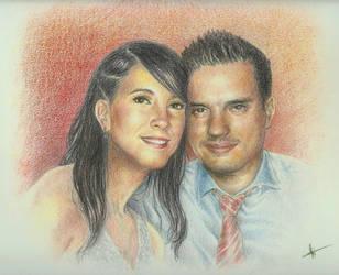 Irene y Antonio by ElRobel