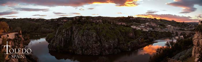 Toledo Panorama by ElRobel