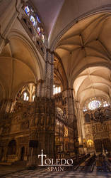 Cathedral of Toledo by ElRobel