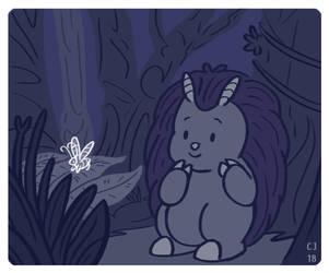I Found a Butterfly by CJizzlelette