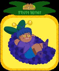 Hlt : : Fruit Meme : : Grape Boi by CJizzlelette