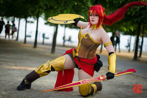 Rwby Pyrrha Nikos Cosplay by LittleClockworkDoll