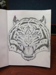 Tiger by yocoro