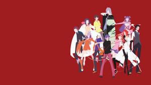 Devil Survivor Group Wallpaper by LimeCatMastr