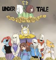 UnderTale (very late Happy Birthday!..) by DarkUnknow