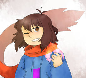 EnderTale Frisk by DarkUnknow