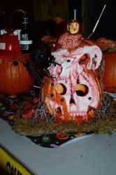 Pumpkin contest at college :D by ann-ovtharocks