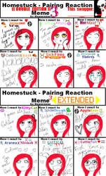 Homestuck Pairing Reaction by ann-ovtharocks