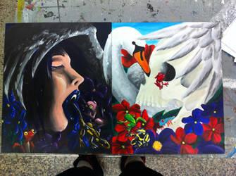 Swan Song by ann-ovtharocks