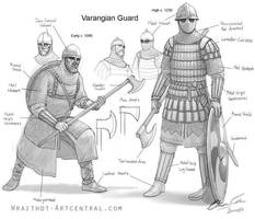 Varangian Guard design by Magetathelion