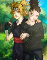Temari and Shikamaru by Haneko-san