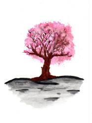 Cherry Tree by Sevenkat