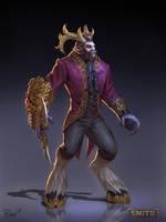 Cursed Cernunnos Concept by PTimm