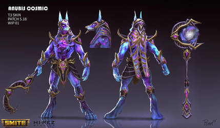 Cosmic Anubis by PTimm
