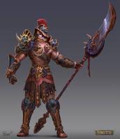 Guan Yu Gladiator Smite Skin by PTimm