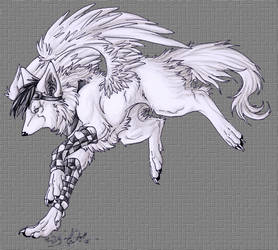 .::OOZ::. by WhiteSpiritWolf