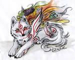 Okami.::.Shiranui by WhiteSpiritWolf
