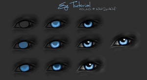 White's .:. Eye Tutorial:. by WhiteSpiritWolf