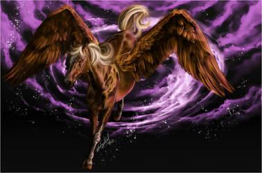 .:Flying Pegasus:. by WhiteSpiritWolf
