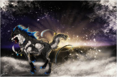 .:After The Blizzard:. by WhiteSpiritWolf