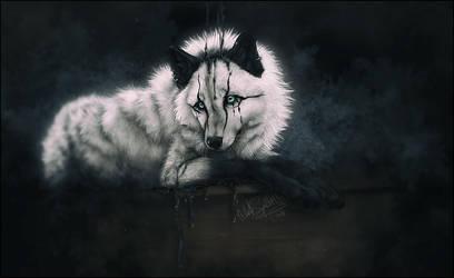 .: Black Tears :. by WhiteSpiritWolf