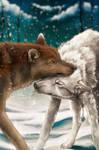 YCH .:First Snow:. by WhiteSpiritWolf
