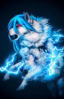 .: Thunder Dance :. by WhiteSpiritWolf