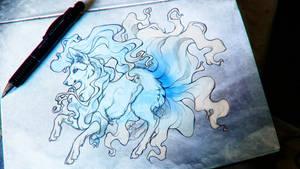 .: Alola Ninetales :. by WhiteSpiritWolf