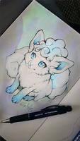 .: I'm that cute :. by WhiteSpiritWolf