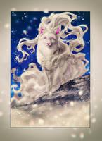 .: Alolan Ninetales - Winter time :. by WhiteSpiritWolf
