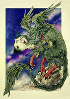 Trico . Guardian of the NightSky by WhiteSpiritWolf