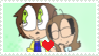 Neighbor x his wife stamp by AskKassandraGF