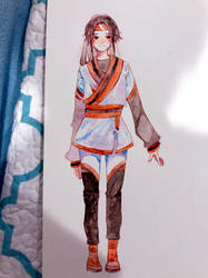 Mu watercolor by Kalidreamine