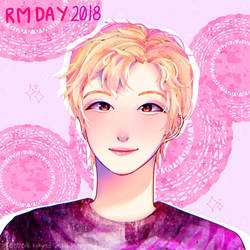 HAPPY RM DAY 2018 by Kalidreamine