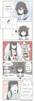 Call me Oneechan Ryuko!! by h0saki