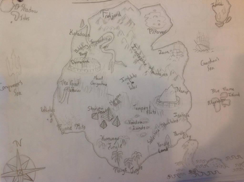 Runeterra Map by Viola-Player on DeviantArt