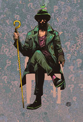 The Riddler by wellbee