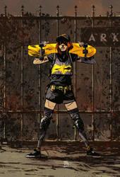 Batgirl by wellbee